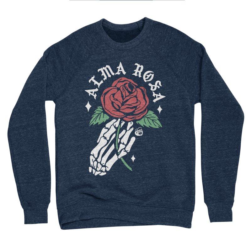 ALMA ROSA Men's Sponge Fleece Sweatshirt by Mico Jones Artist Shop