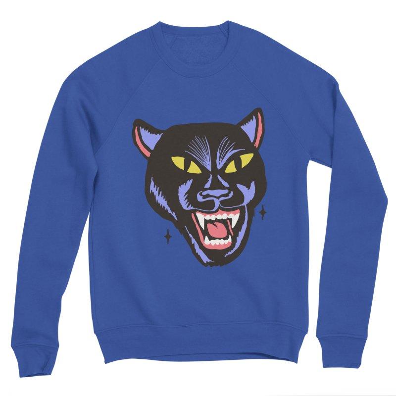 LCD PANTER Men's Sponge Fleece Sweatshirt by Mico Jones Artist Shop