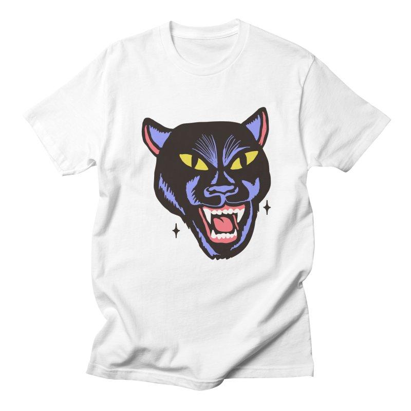 LCD PANTER Men's T-shirt by Mico Jones Artist Shop