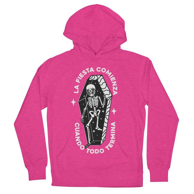 LA VIDA COMIENZA Men's Pullover Hoody by Mico Jones Artist Shop