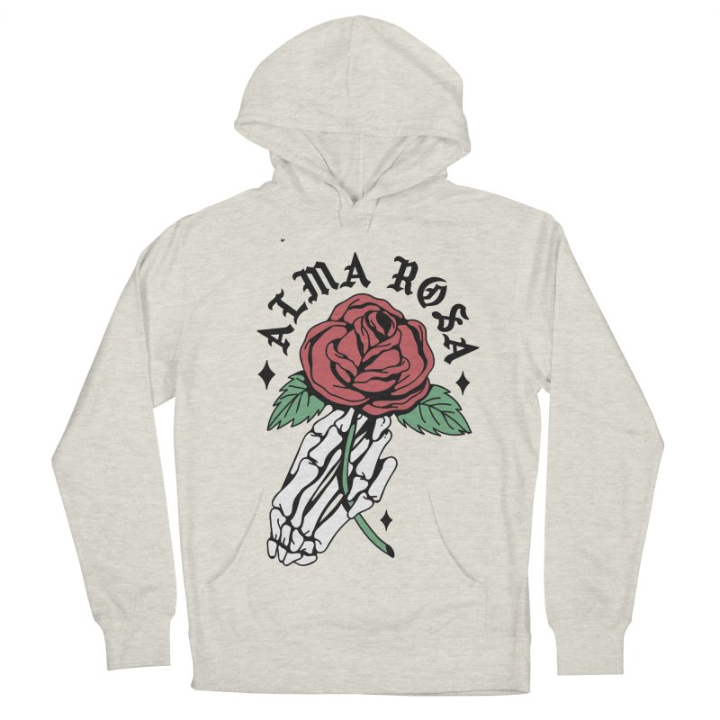 ALMA ROSA INTERLUDE Men's French Terry Pullover Hoody by Mico Jones Artist Shop