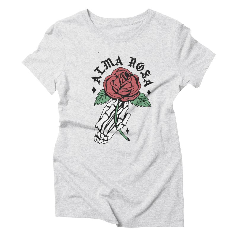 ALMA ROSA INTERLUDE Women's Triblend T-Shirt by Mico Jones Artist Shop