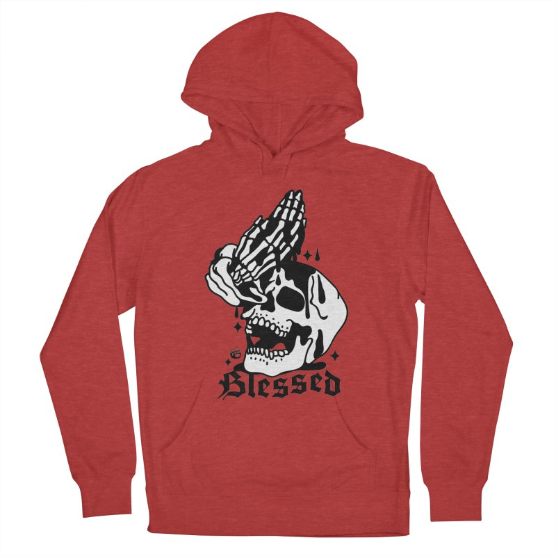 BLESSED Men's Pullover Hoody by Mico Jones Artist Shop