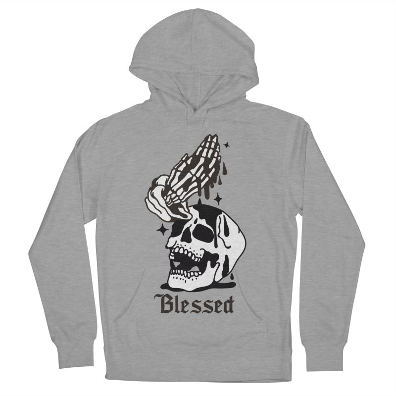 BLESSED Women's Pullover Hoody by Mico Jones Artist Shop