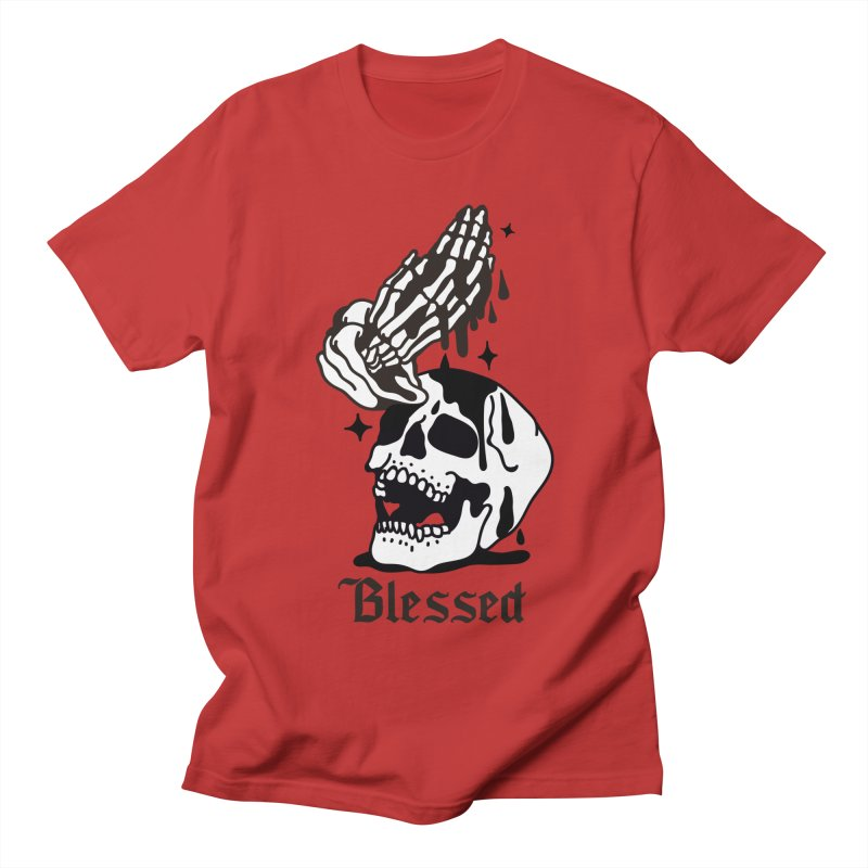 BLESSED Men's T-Shirt by Mico Jones Artist Shop