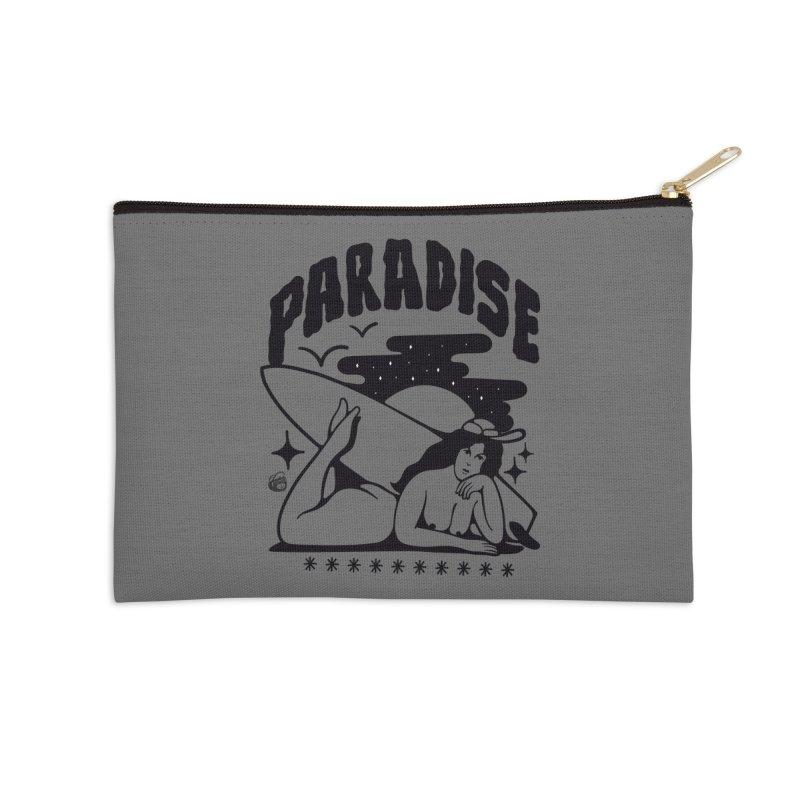 PARADISE Accessories Zip Pouch by Mico Jones Artist Shop