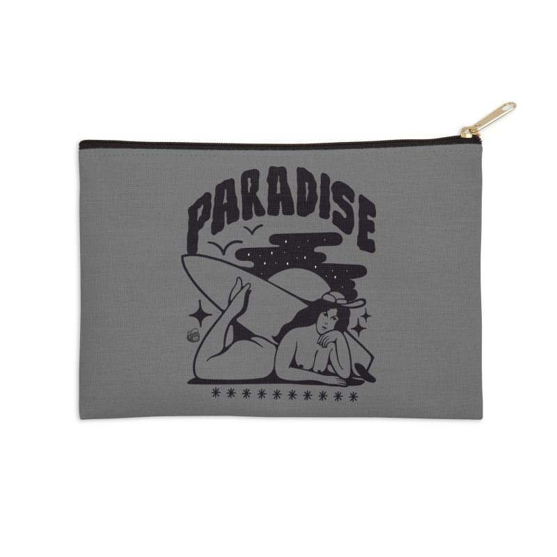 PARADISE Accessories Zip Pouch by Mico Jones Artist Shop