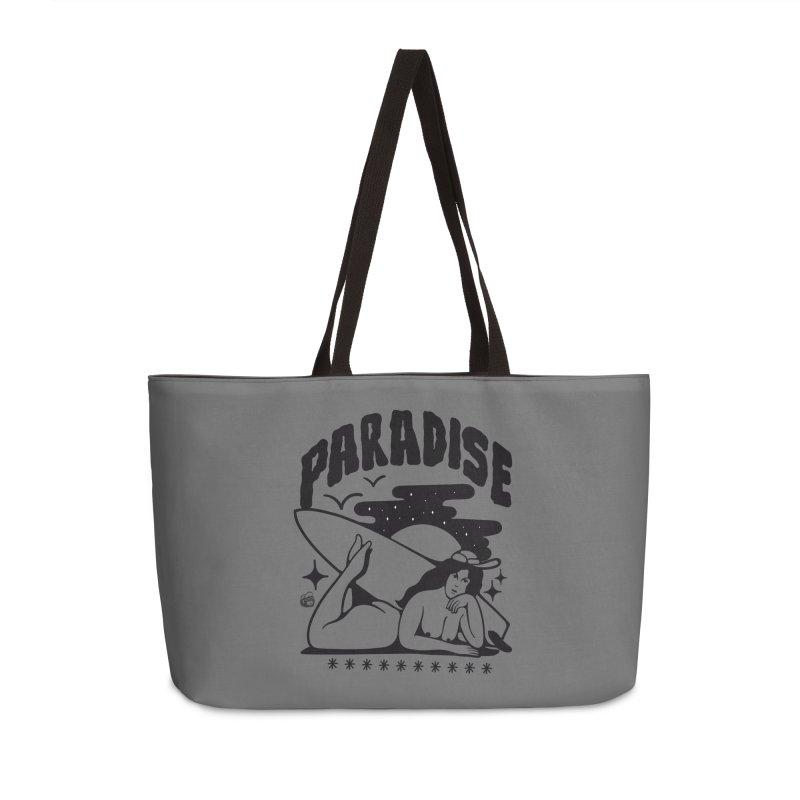PARADISE Accessories Weekender Bag Bag by Mico Jones Artist Shop