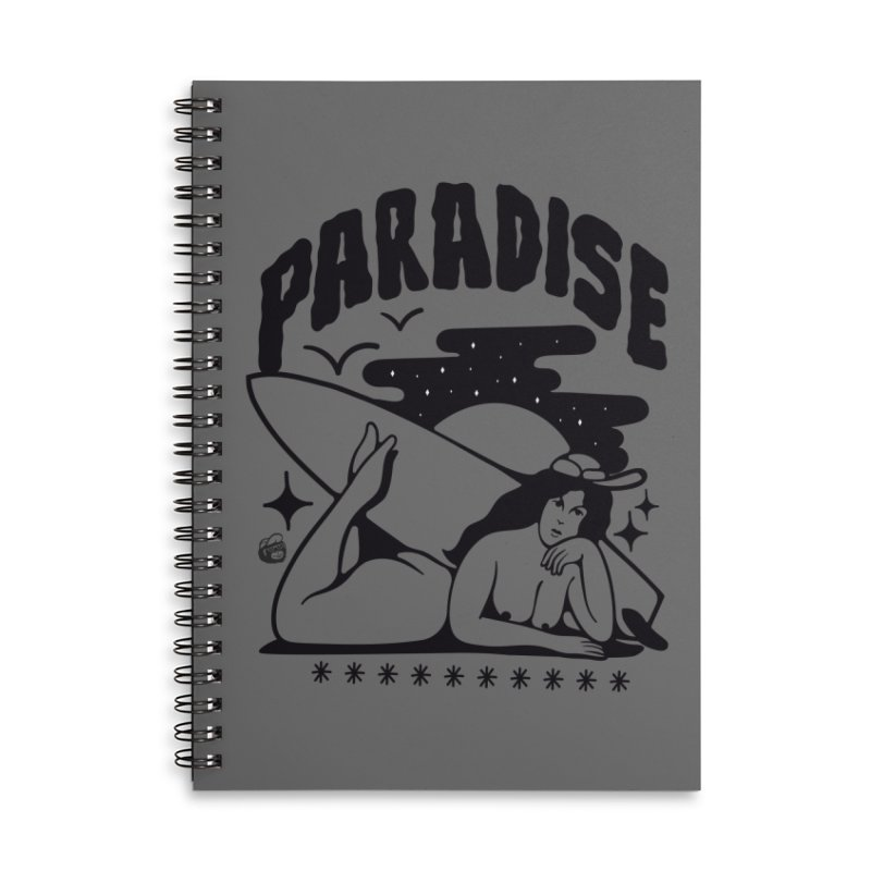 PARADISE Accessories Notebook by Mico Jones Artist Shop