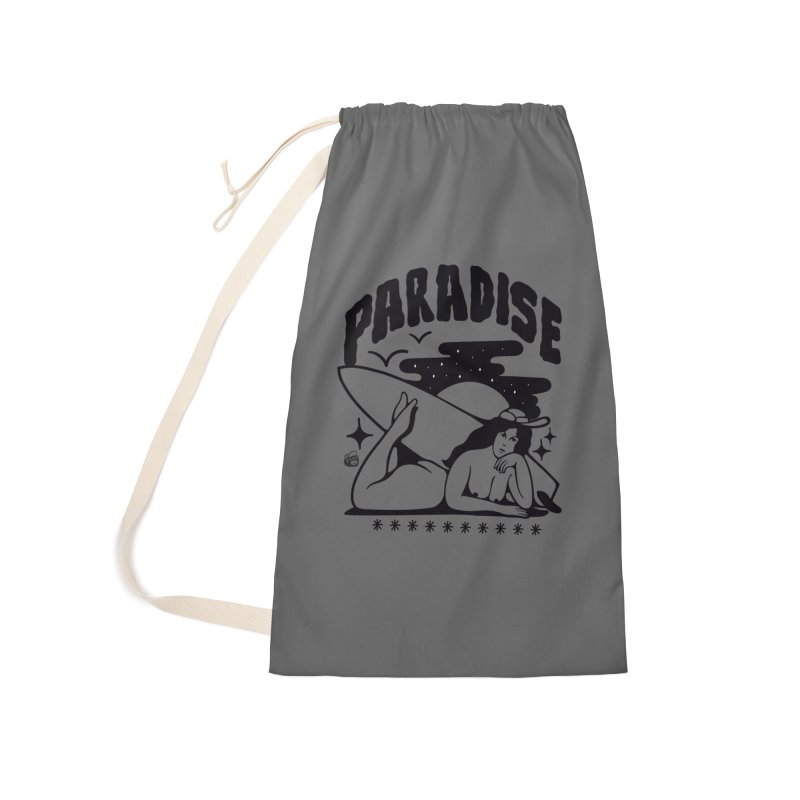 PARADISE Accessories Bag by Mico Jones Artist Shop