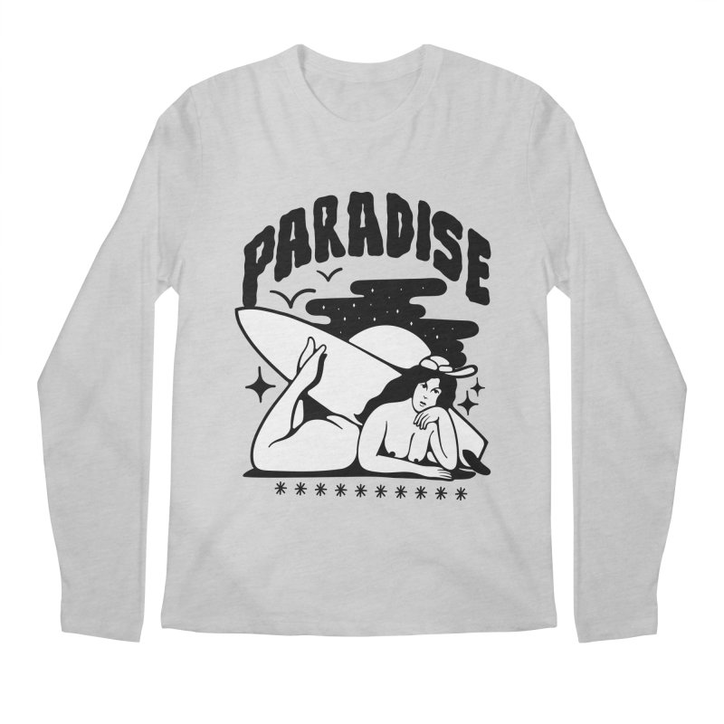 PARADISE Men's Longsleeve T-Shirt by Mico Jones Artist Shop