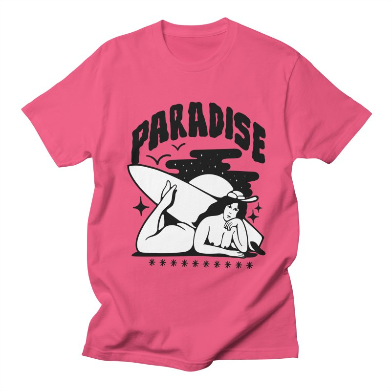 PARADISE Women's Unisex T-Shirt by Mico Jones Artist Shop