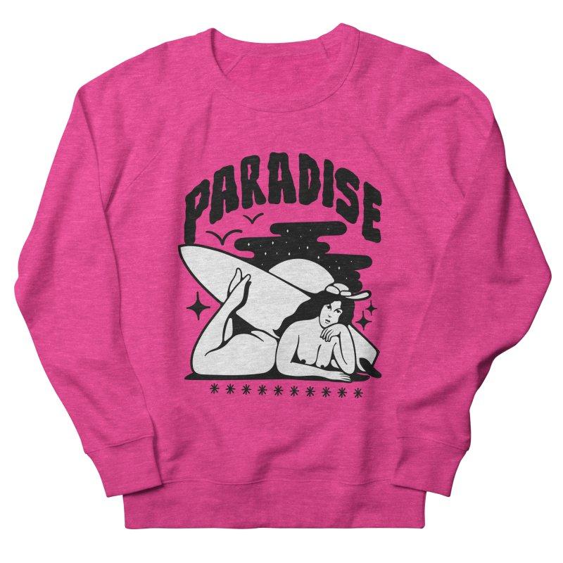 PARADISE Women's Sweatshirt by Mico Jones Artist Shop