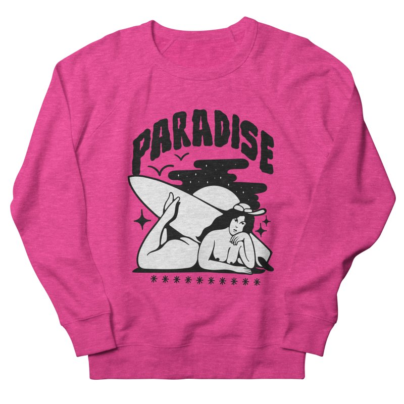 PARADISE Men's Sweatshirt by Mico Jones Artist Shop