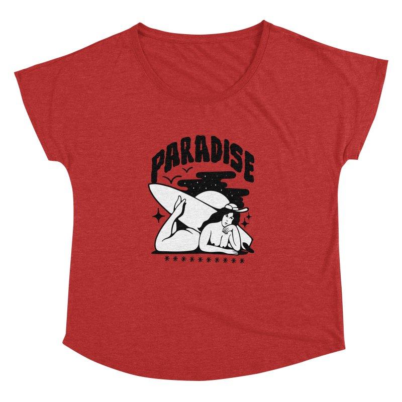 PARADISE Women's Dolman by Mico Jones Artist Shop