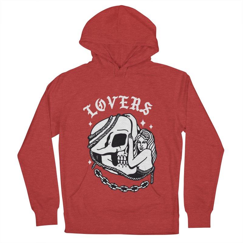 LOVE SKULL Men's Pullover Hoody by Mico Jones Artist Shop
