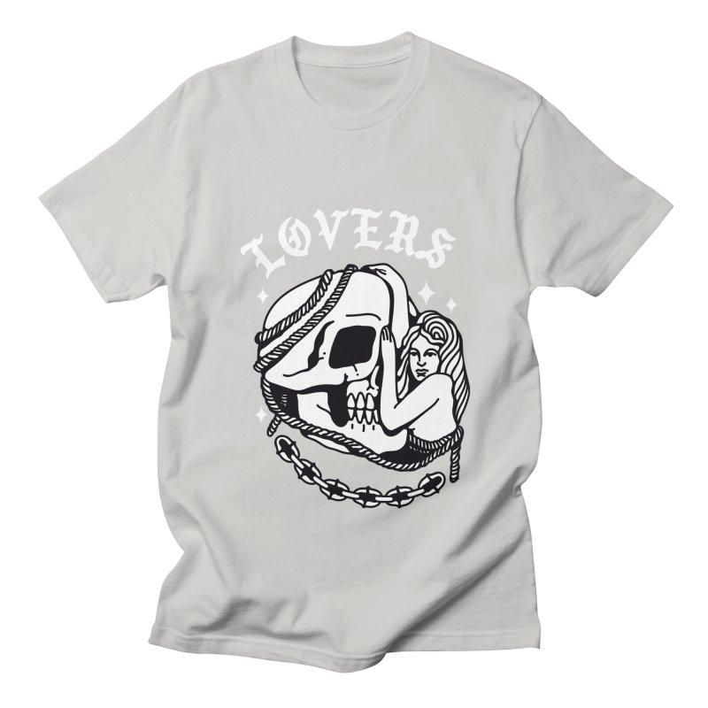 LOVE SKULL Men's T-Shirt by Mico Jones Artist Shop