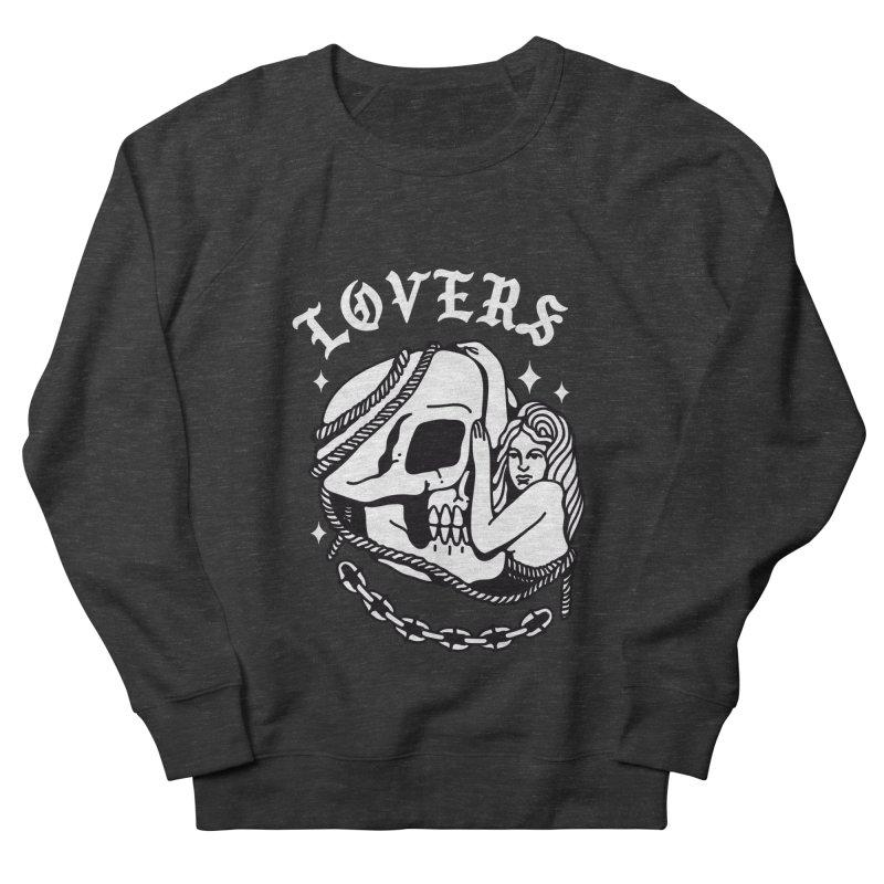 LOVE SKULL Women's Sweatshirt by Mico Jones Artist Shop