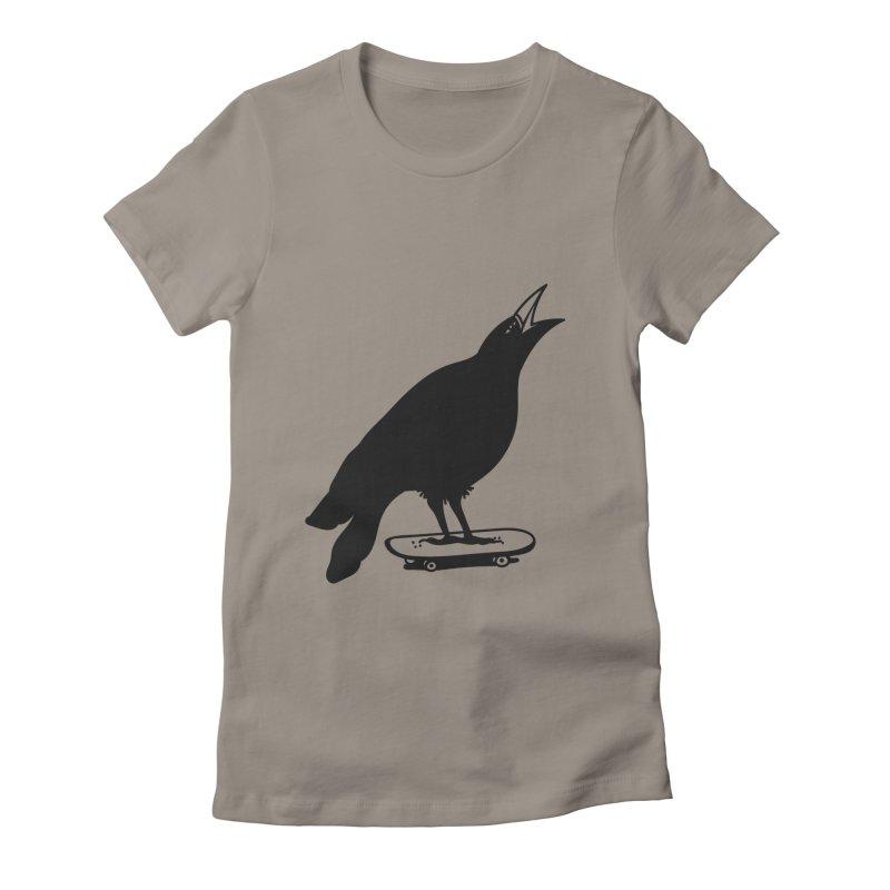 SKATE 4EVER  Women's T-Shirt by Mico Jones Artist Shop