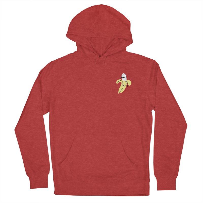 BANANA POCKET Men's Pullover Hoody by Mico Jones Artist Shop