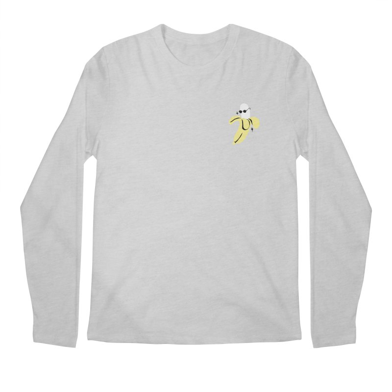 BANANA POCKET Men's Longsleeve T-Shirt by Mico Jones Artist Shop