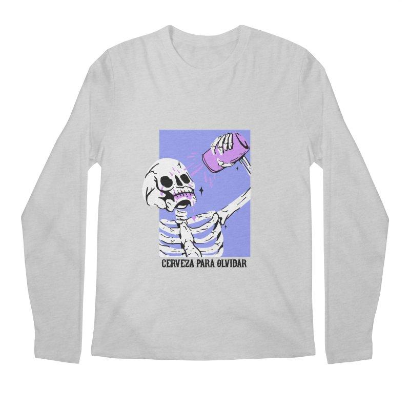 CERBEZA PARA OLVIDAR Men's Longsleeve T-Shirt by Mico Jones Artist Shop