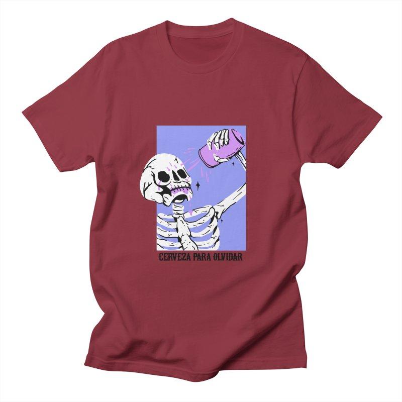 CERBEZA PARA OLVIDAR Men's T-shirt by Mico Jones Artist Shop