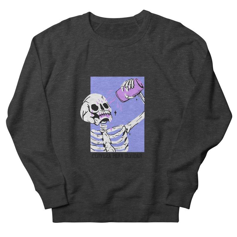 CERBEZA PARA OLVIDAR Women's Sweatshirt by Mico Jones Artist Shop
