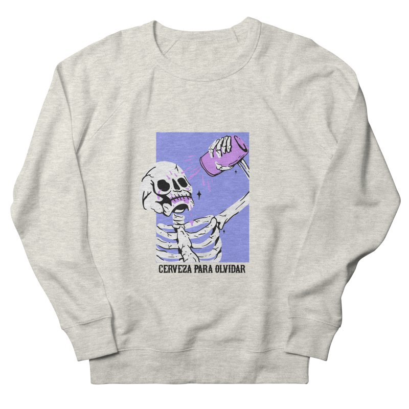 CERBEZA PARA OLVIDAR Men's Sweatshirt by Mico Jones Artist Shop