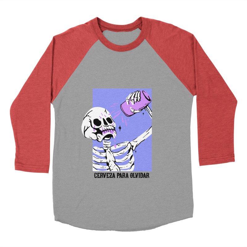 CERBEZA PARA OLVIDAR Men's Baseball Triblend T-Shirt by Mico Jones Artist Shop