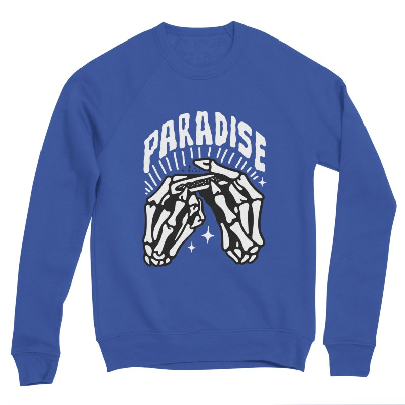 PARADISE 2 Men's Sweatshirt by Mico Jones Artist Shop