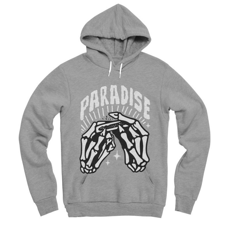 PARADISE 2 Men's Sponge Fleece Pullover Hoody by Mico Jones Artist Shop