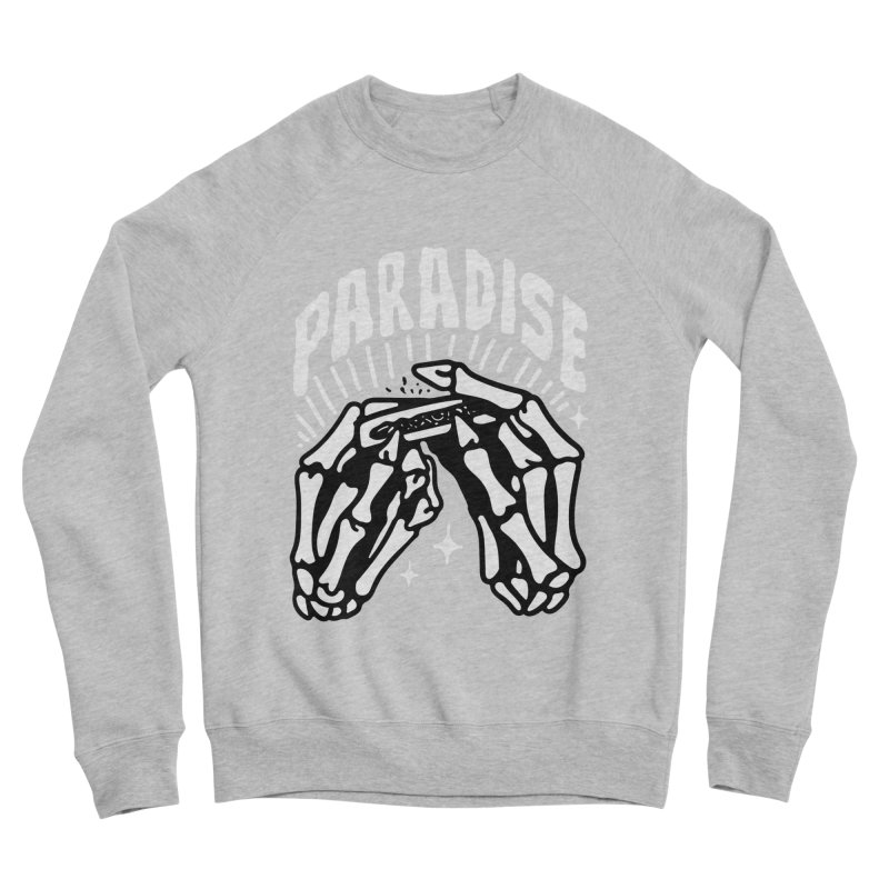 PARADISE 2 Men's Sponge Fleece Sweatshirt by Mico Jones Artist Shop