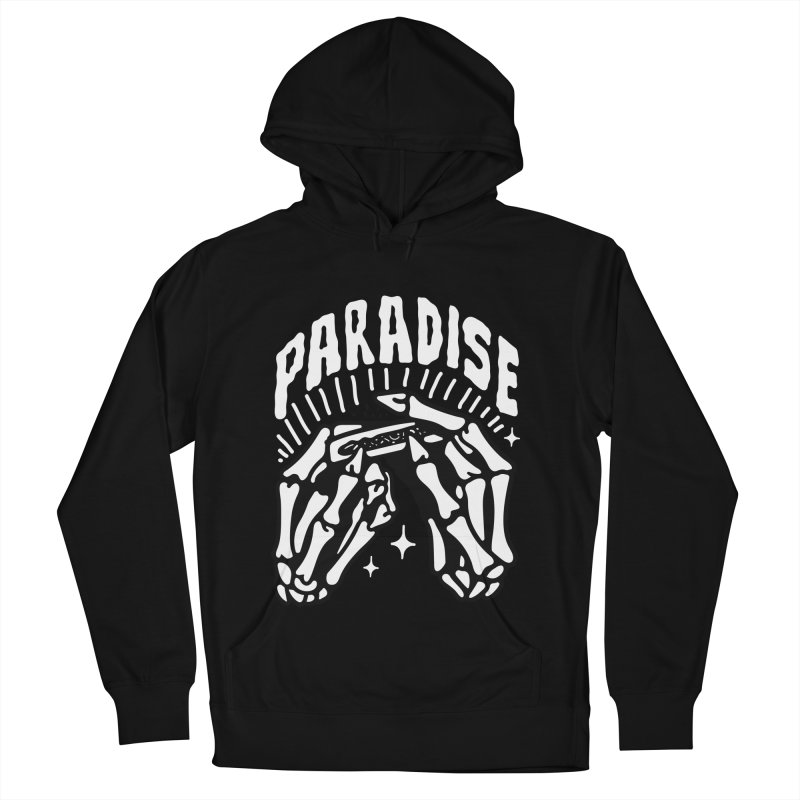 PARADISE 2 Men's French Terry Pullover Hoody by Mico Jones Artist Shop
