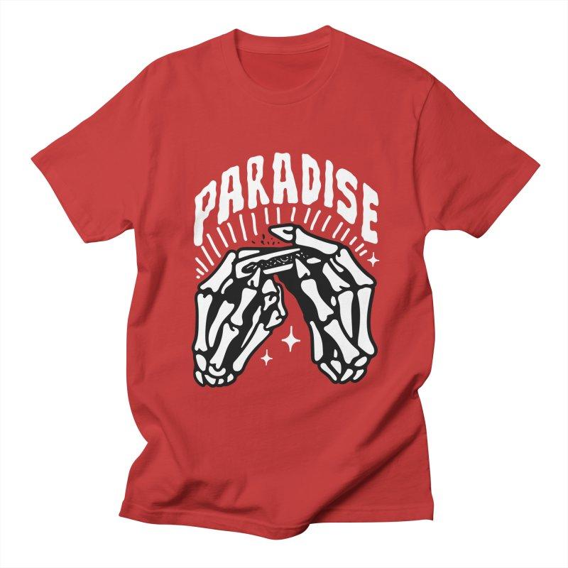 PARADISE 2 Men's T-Shirt by Mico Jones Artist Shop