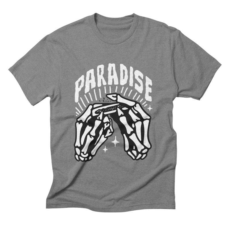 PARADISE 2 Men's Triblend T-Shirt by Mico Jones Artist Shop