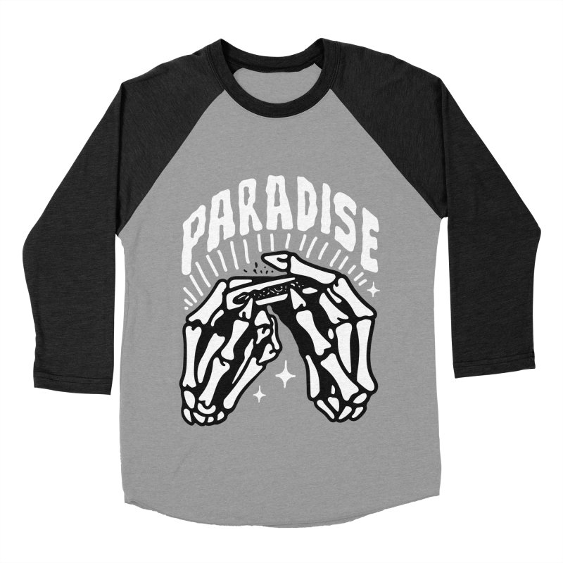 PARADISE 2 Women's Baseball Triblend T-Shirt by Mico Jones Artist Shop