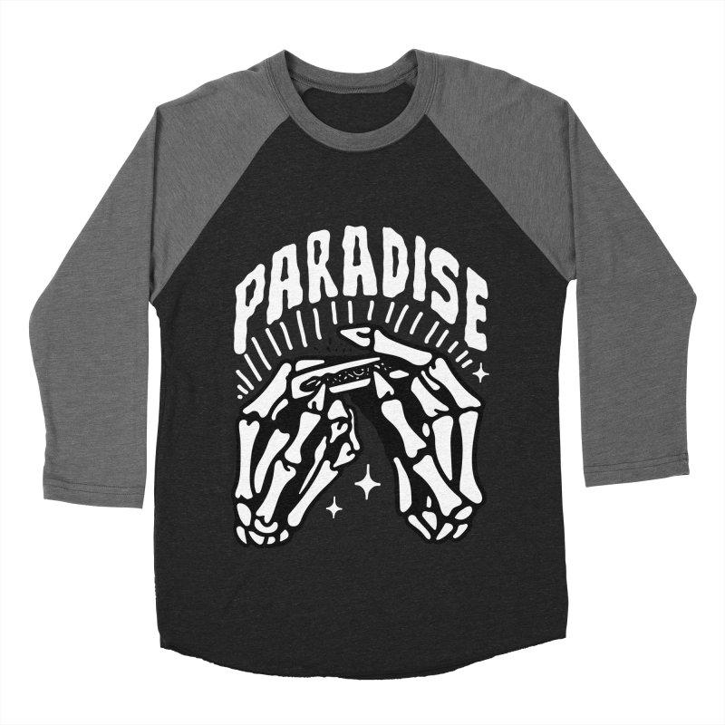 PARADISE 2 Men's Baseball Triblend T-Shirt by Mico Jones Artist Shop