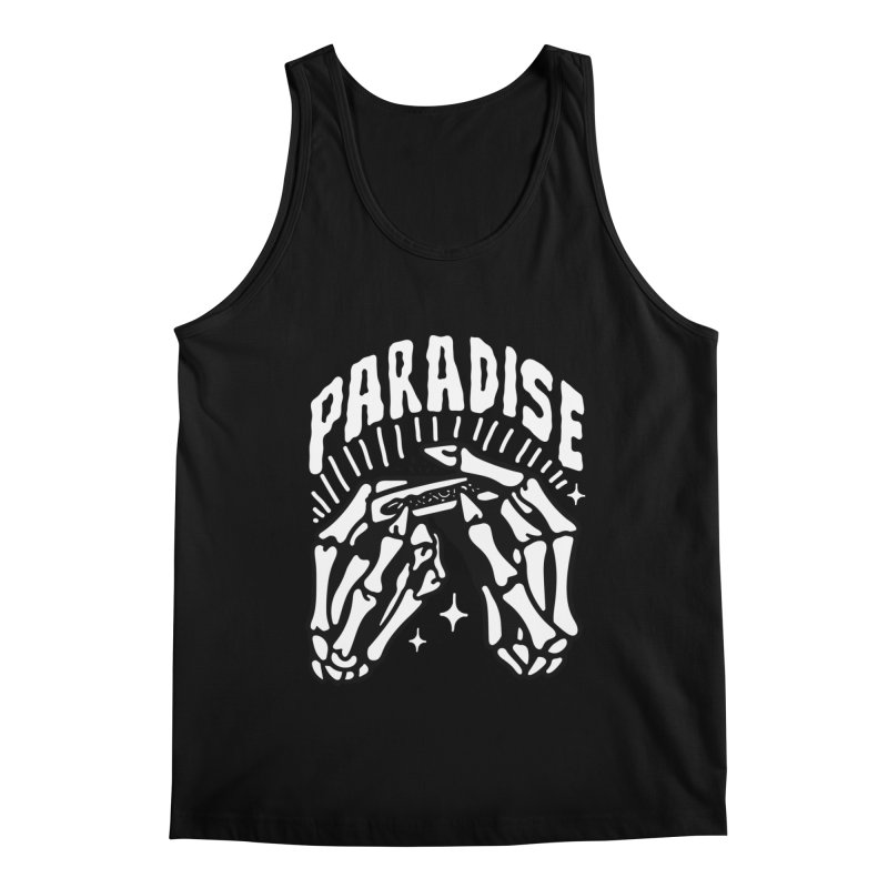 PARADISE 2 Men's Tank by Mico Jones Artist Shop