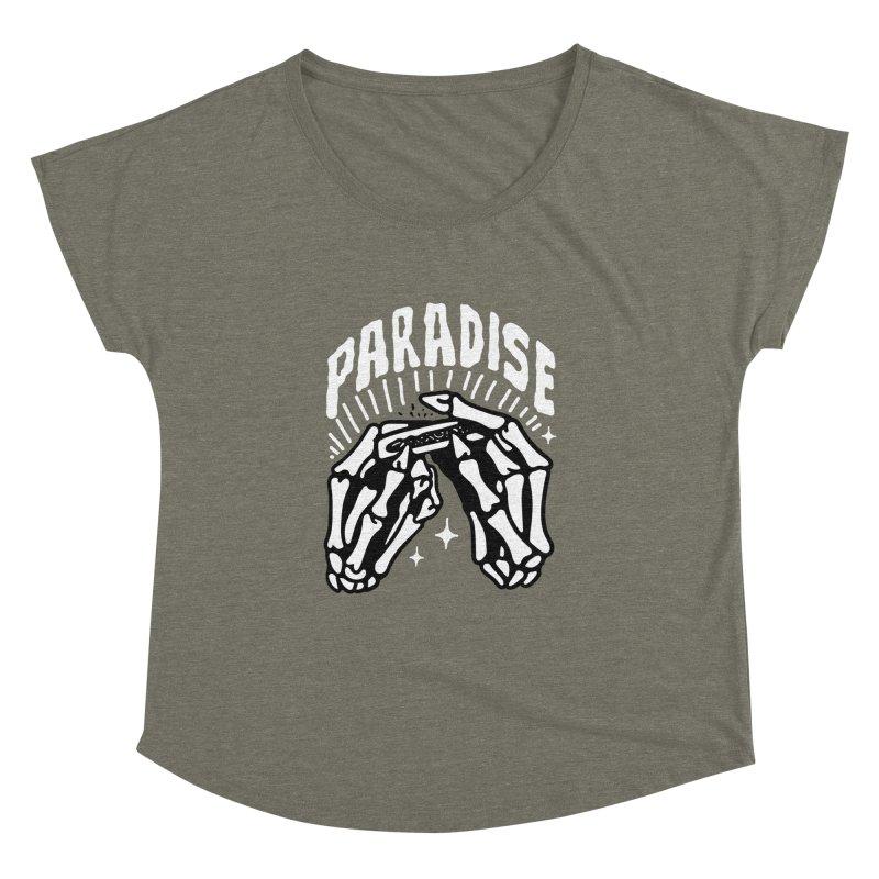 PARADISE 2 Women's Dolman by Mico Jones Artist Shop