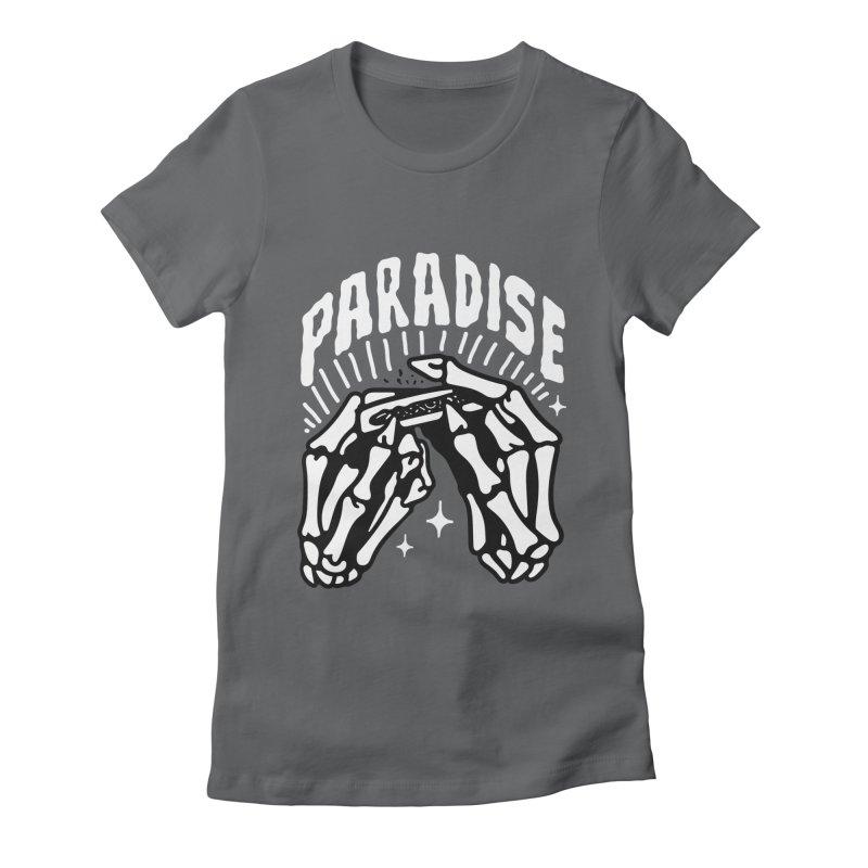 PARADISE 2 Women's T-Shirt by Mico Jones Artist Shop