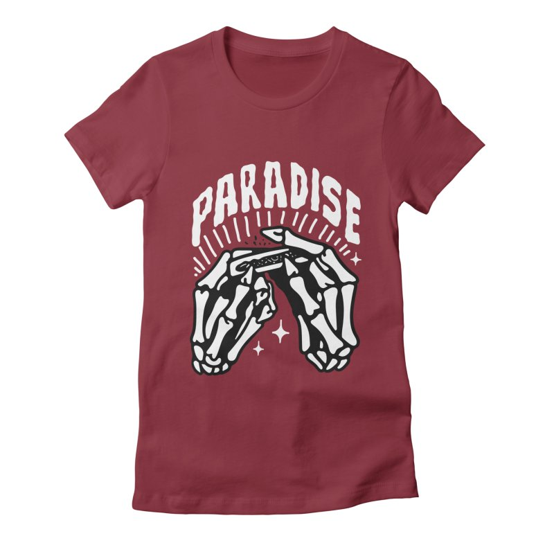 PARADISE 2 Women's T-Shirt by Mico Jones Artist Shop