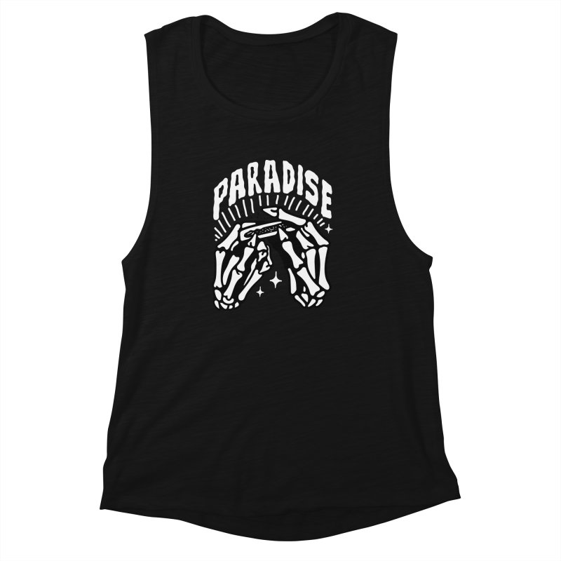 PARADISE 2 Women's Muscle Tank by Mico Jones Artist Shop