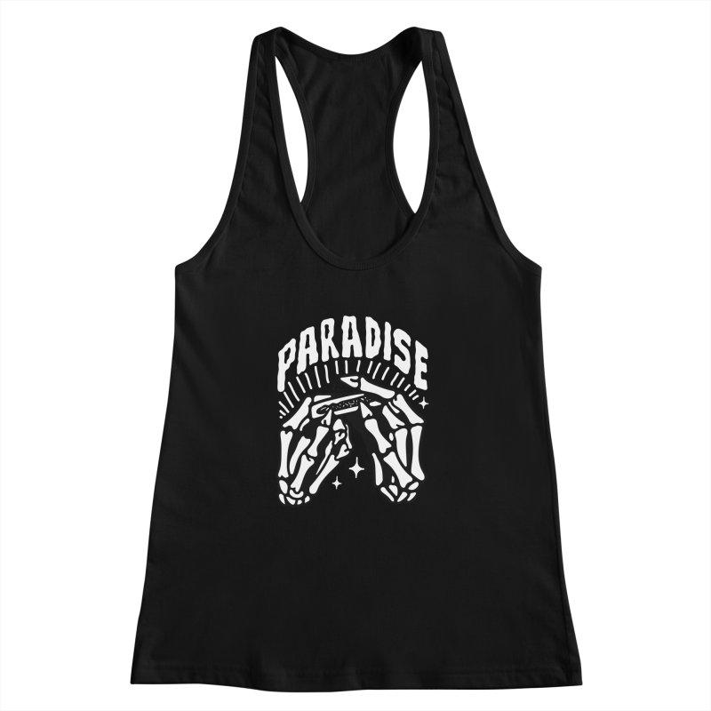 PARADISE 2 Women's Racerback Tank by Mico Jones Artist Shop