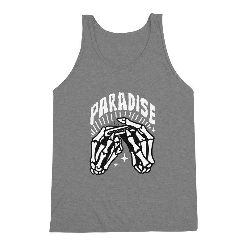PARADISE 2 Men's Triblend Tank by Mico Jones Artist Shop