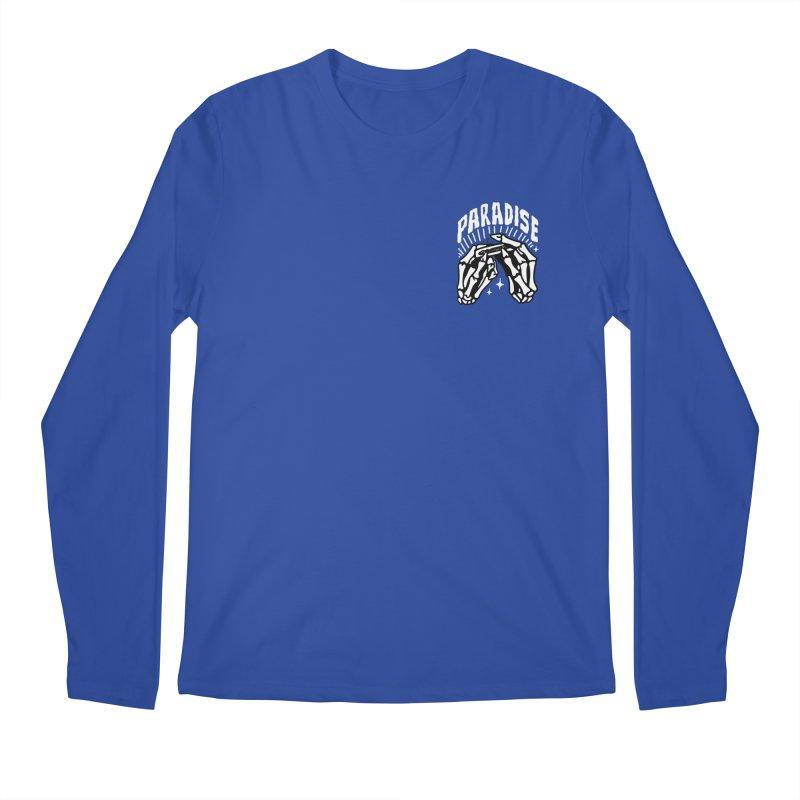 PARADISE 2 POCKET Men's Longsleeve T-Shirt by Mico Jones Artist Shop