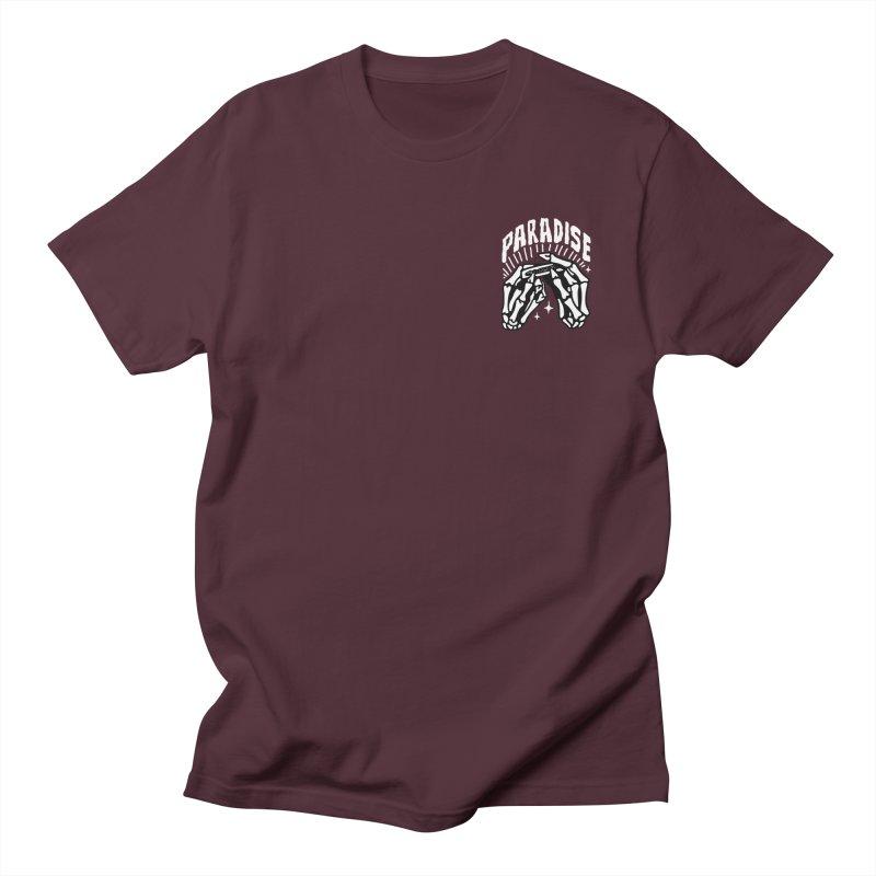 PARADISE 2 POCKET Women's Unisex T-Shirt by Mico Jones Artist Shop