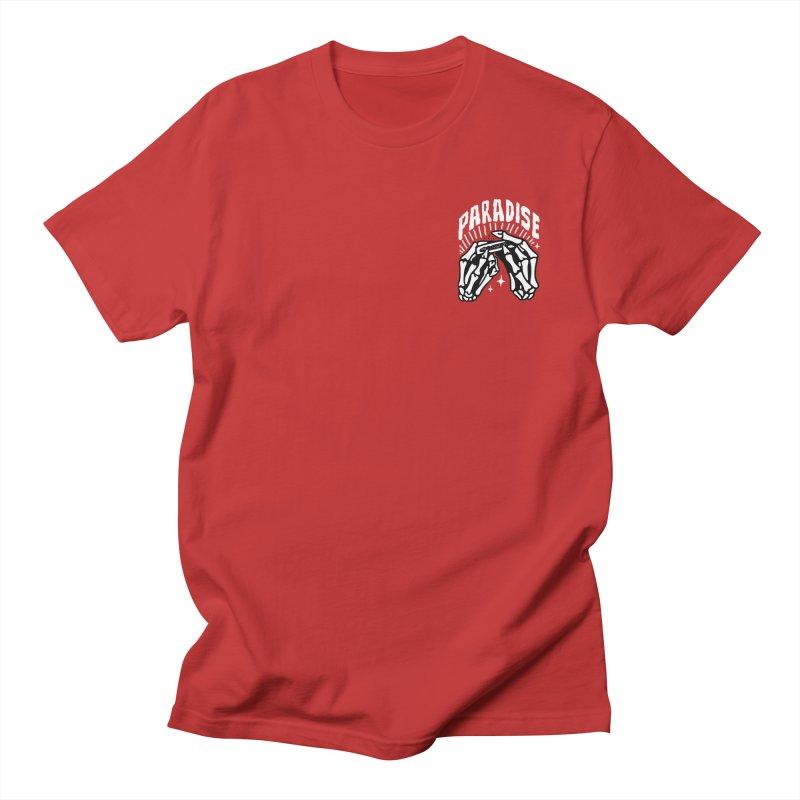 PARADISE 2 POCKET Men's T-Shirt by Mico Jones Artist Shop