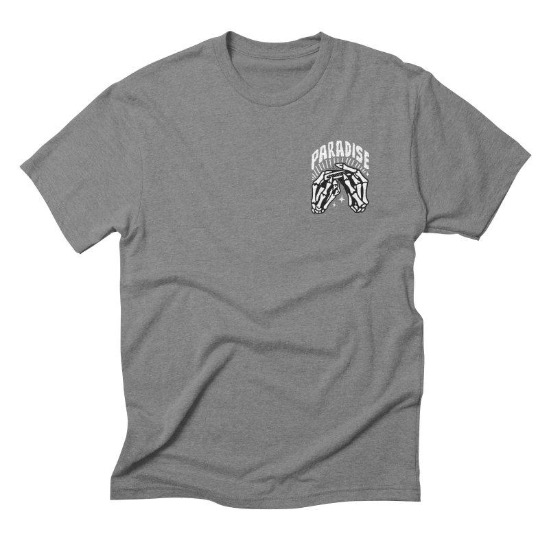 PARADISE 2 POCKET Men's Triblend T-shirt by Mico Jones Artist Shop