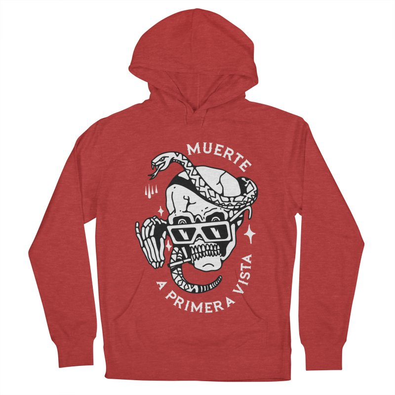 DEATH AT FIRST SIGHT Women's Pullover Hoody by Mico Jones Artist Shop